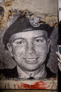 Bradley Manning Graffiti